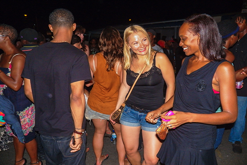St. Lucia tours - Gros Islet Street Party Island Dance fest