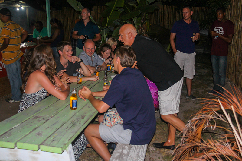 St. Lucia tours - Gros Islet Street Party Island Crime Safe