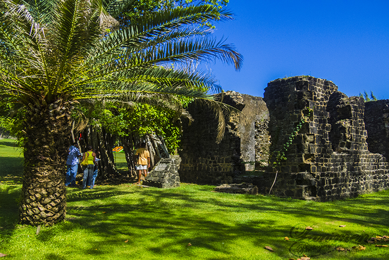St. Lucia Tours - Pigeon Island ruins