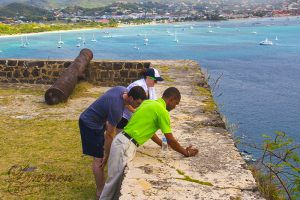 St. Lucia Tours - Pigeon Island Tour Guide View Serenity