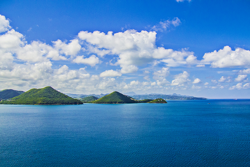 St. Lucia Tours - Pigeon Island Fort Rodney View