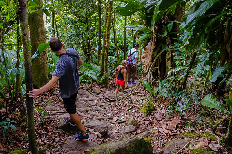 St. Lucia Tours - Gros Piton couples hike guided