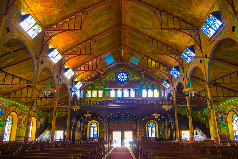 St. Lucia Tours - Castries Catherdral of the Immaculate Conception