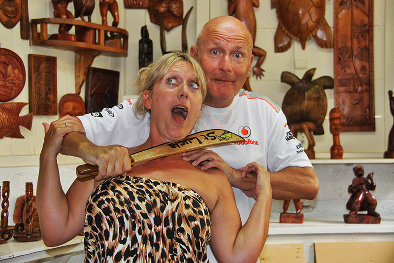 St. Lucia Tours - Local Authentic Arts and Craft Wood Carvings