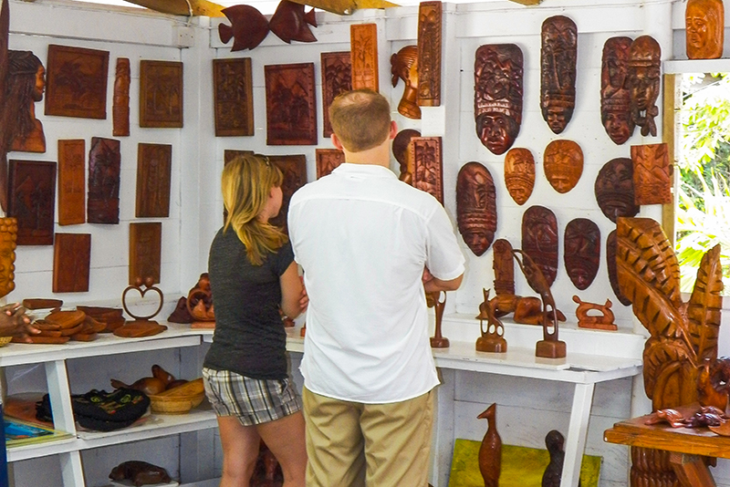 St. Lucia Tours - Local Authentic Arts and Craft Eudovic's