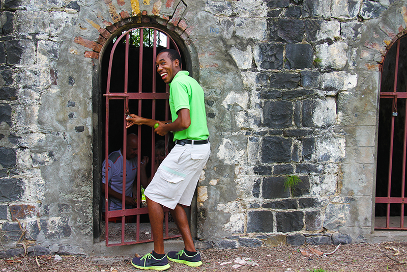 St. Lucia Tours - Tour guide fun Serenity old prison