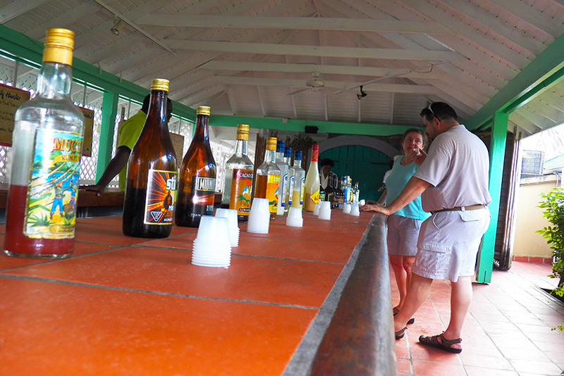St. Lucia Tours - Rum Distillery Tasting