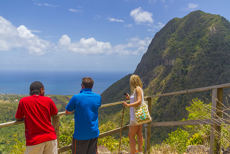St. Lucia tours - Tet Paul hike guided