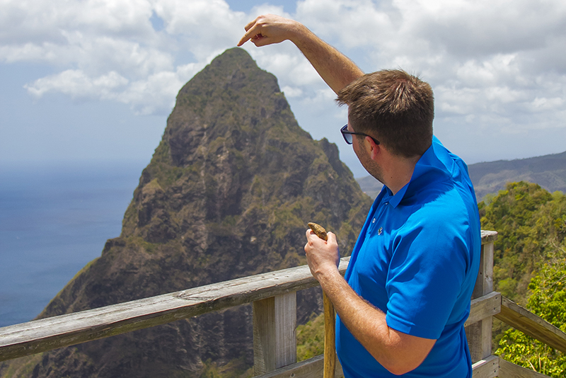 St. Lucia tours - Tet Paul hike