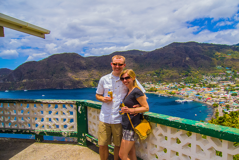 St. Lucia Tours - Soufriere town view