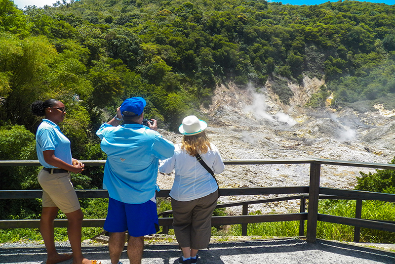 St. Lucia tours - Drive in volcano tour