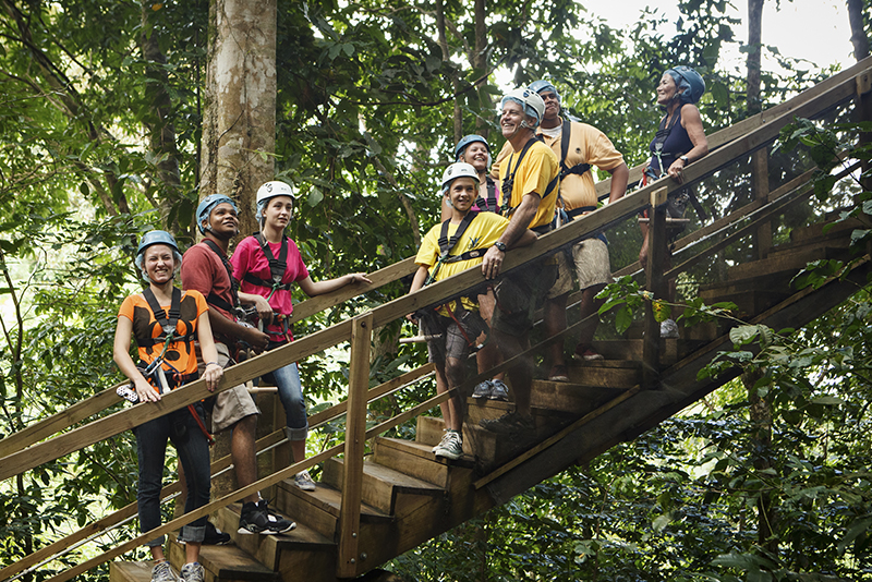 St. Lucia Tours - Zipline Rainforest