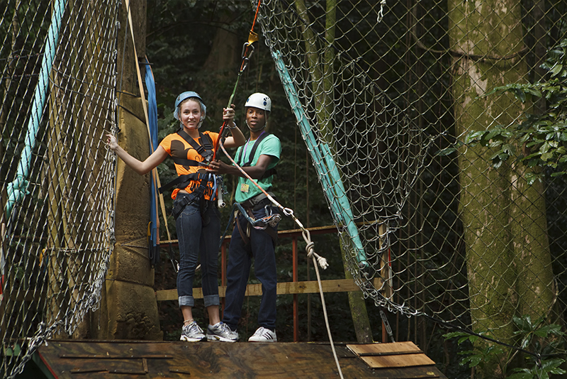 St. Lucia Tours - Jungle Swing
