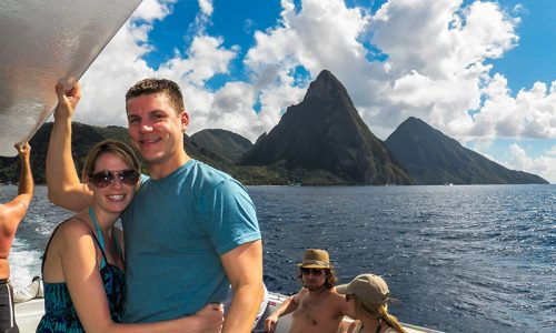 St. Lucia Boat Tours - Pitons