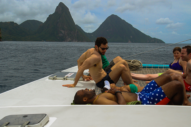 St. Lucia Tours - Incentive Groups Boat Charter