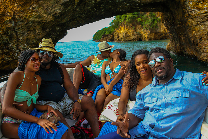 St. Lucia Tours - Private Boat Charter tunnel of love Pirates of the Caribbean