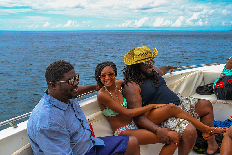 St. Lucia Tours - Familiy Speed Boat Charter