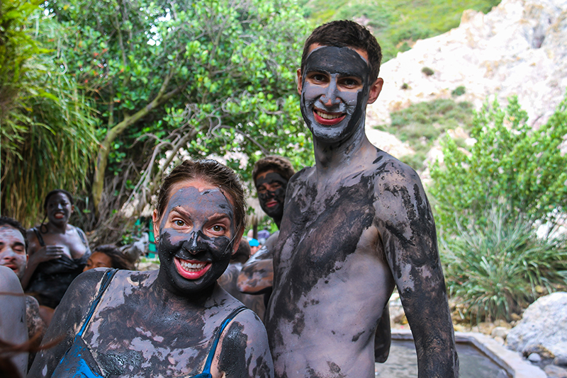 St. Lucia Tours - Mineral Mud bath