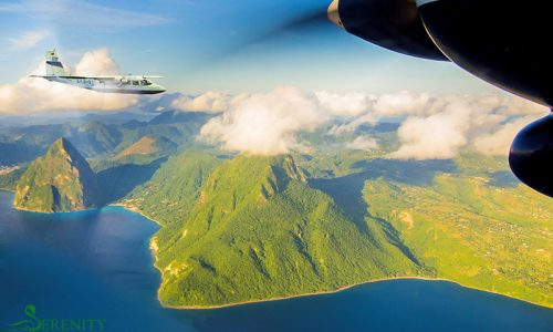 St. Lucia Tours - Air Charter Pitons
