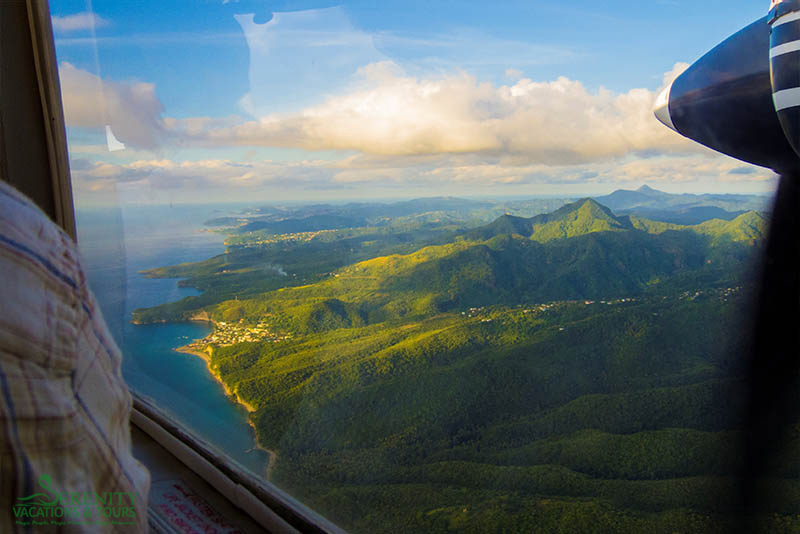 St. Lucia Tours - Air Charters View